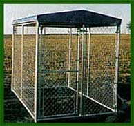 kennel with top