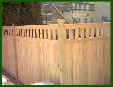 Wood Fence By Homestead Fence