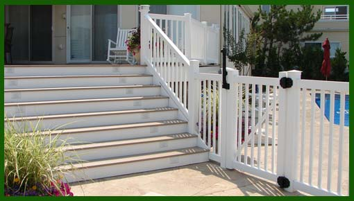 steps gate and rail by HFC
